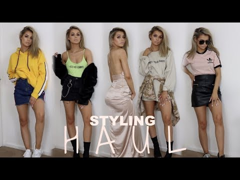 HUGE TRY ON  CLOTHING HAUL | &  HOW I STYLE THEM