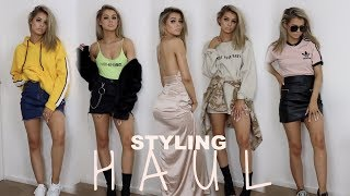 HUGE TRY ON  CLOTHING HAUL | &  HOW I STYLE THEM thumbnail