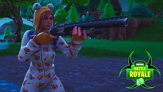 Getting 2 Players With 1 Pump Shot| Fortnite Battle Royale Highlights #025