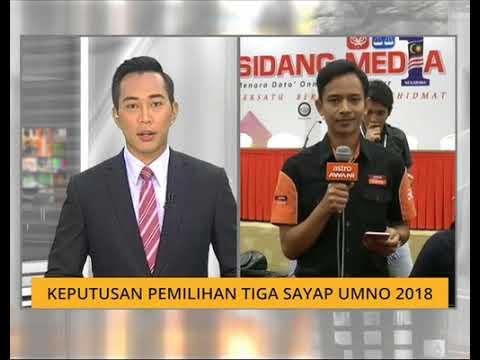 Keputusan pemilihan tiga sayap UMNO 2018