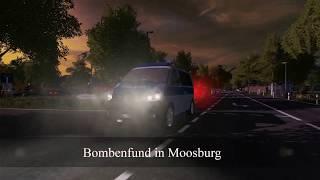 Moosburg News: Bombenfund in Moosburg Ls 17 ( Polizei Einsatz)