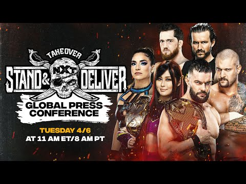 NXT TakeOver: Stand & Deliver Global Press Conference