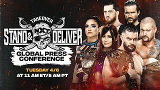 NXT TakeOver: Stand \u0026 Deliver Global Press Conference