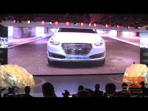 Genesis Brand Launches it's G90 Luxury Flagship in Detroit at the 2016 NAIAS1