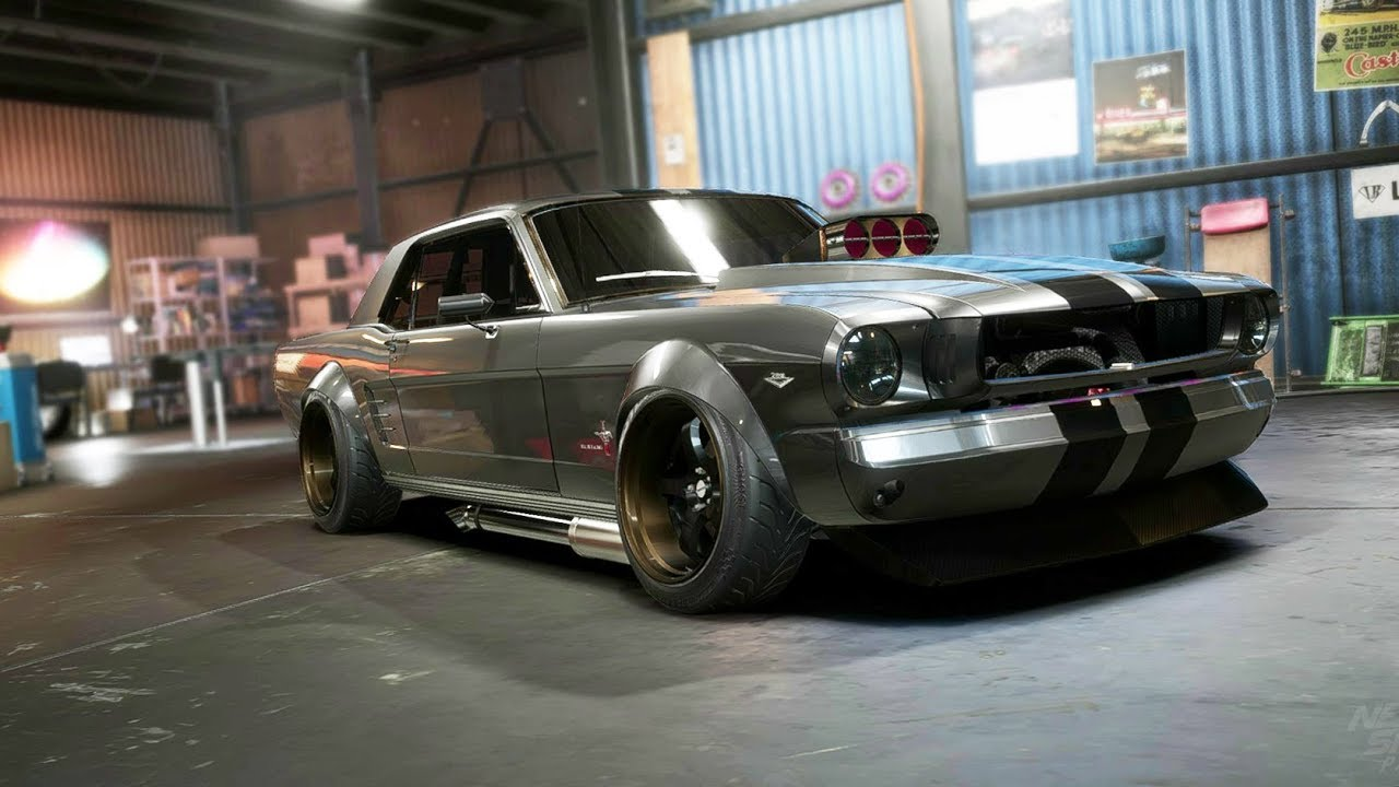 Need for speed payback mustang drift superbuild