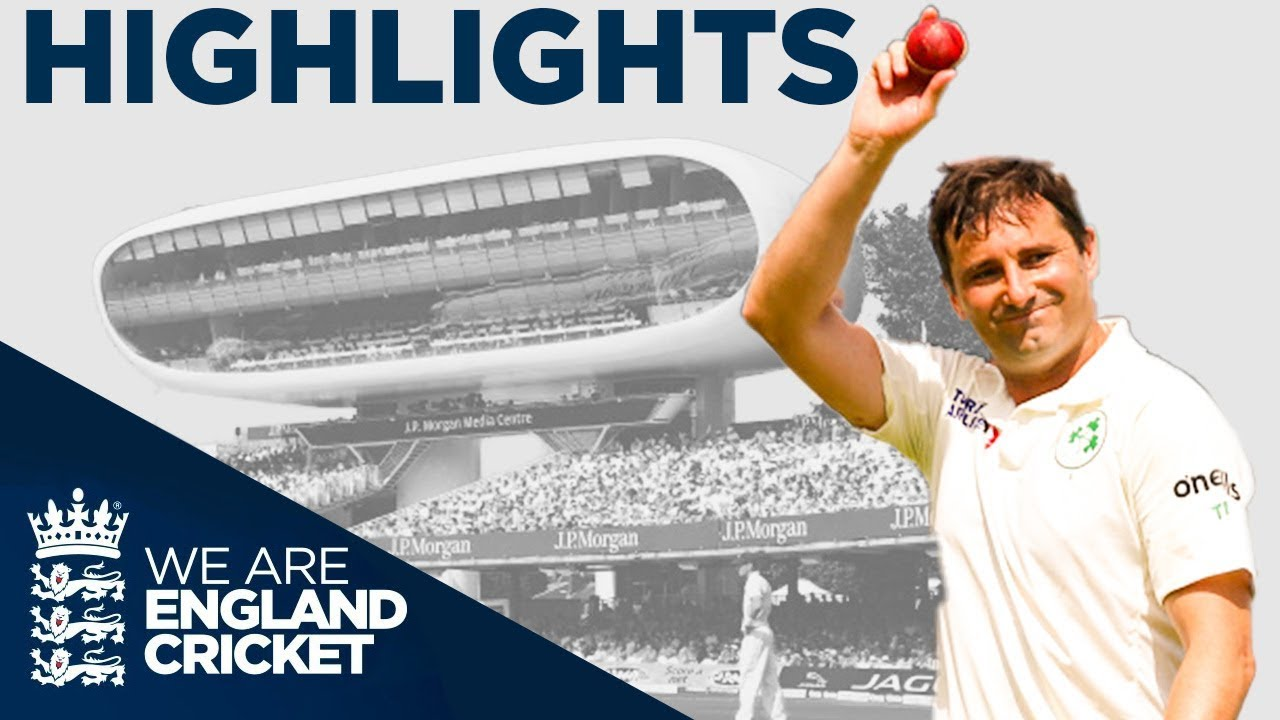 20 Wickets Fall In One Day! | England v Ireland Specsavers Test Day 1 - Highlights