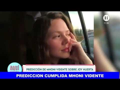 Prediccion Cumplida Mhonividente #JoyHuerta es madre de un niño