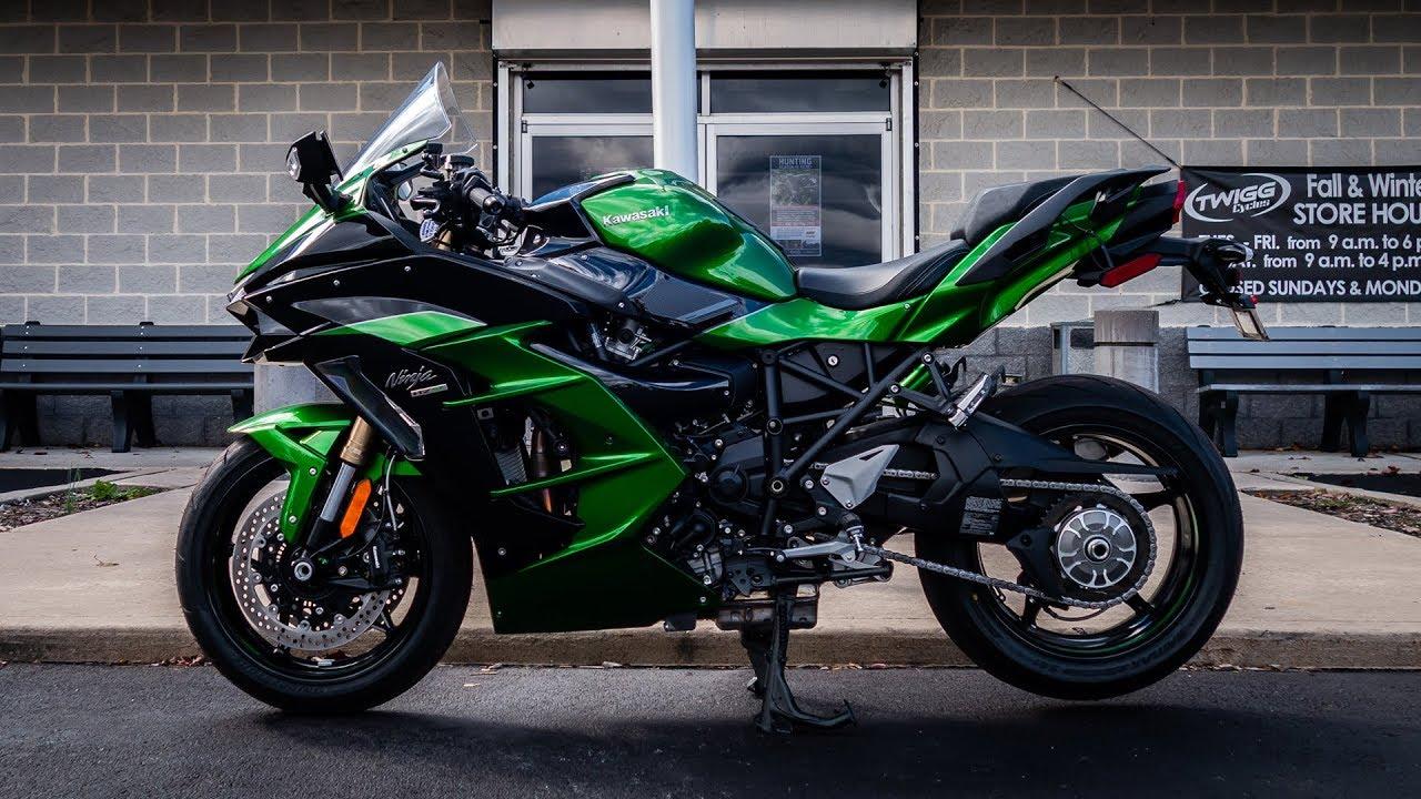 2018 Kawasaki Ninja H2 Sx Se First Ride Review Supercharged