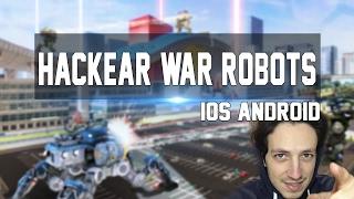 Walking War Robots Hack (iOS/Android) en Español Gold and Silver for Free - War Robots Cheats