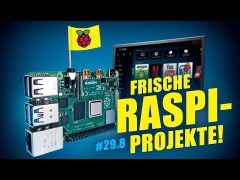 Frische Raspi-Projekte, 8 GByte/s SSDs, DIY-Blockchain   C't Uplink 29.8