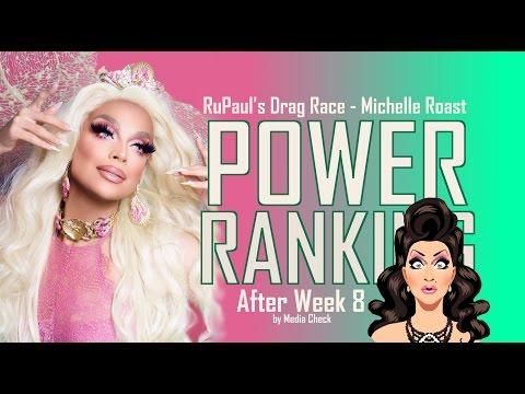 Power Ranking - After Week 8 of RuPaul's Drag Race Season 9