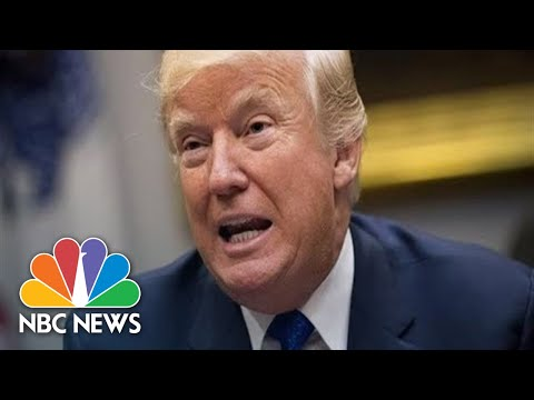 Watch: President Donald Trump Holds Cabinet Meeting At White House | NBC News