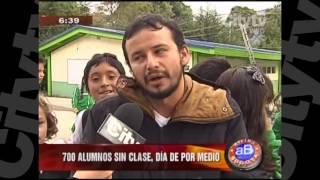 Colegio en Usaquén está apunto del derrumbe   CityTV   Arriba Bogotá   Febrero 9
