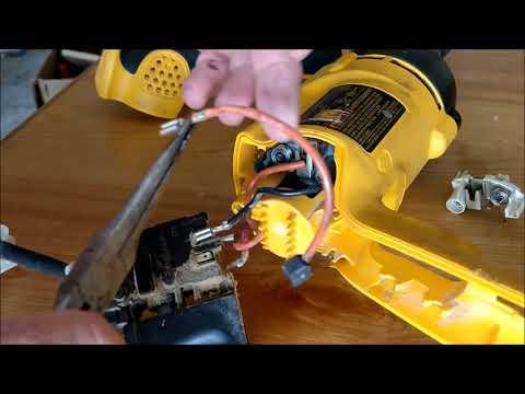 DeWalt DW511 Hammer Drill Not Working - Brush Replacement