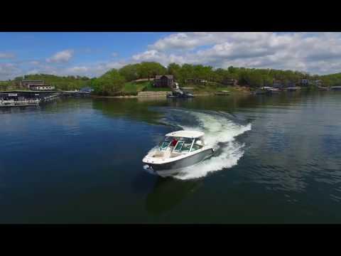 The Incredible Boston Whaler 320 Vantage At Lake Of The Ozarks