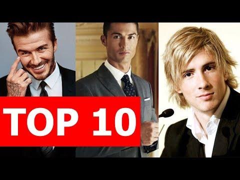 Top 10 cầu thủ đẹp trai nhất bóng đá