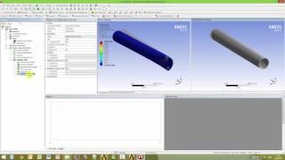 Видеоурок CADFEM VL1412 - ACT расширение Hydrostatic Fluid для расчета сосудов под давлением