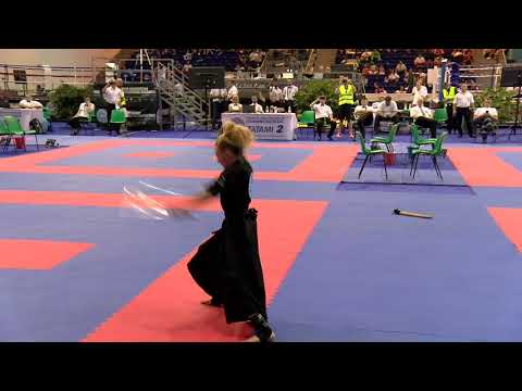 Jesse Jane McParland Weapons WAKO World Championships 2018