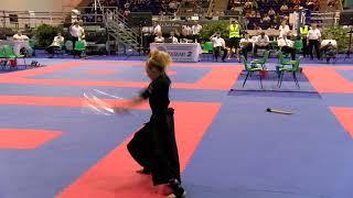 Jesse Jane McParland Weapons WAKO World Championships 2018