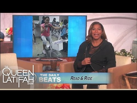 Daily Beats: Read & Ride | The Queen Latifah Show