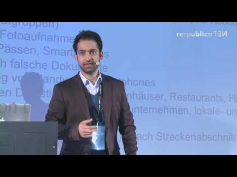 re:publica 2016 – Noor Nazrabi: Smartphones, Lebensretter auf der Flucht on YouTube