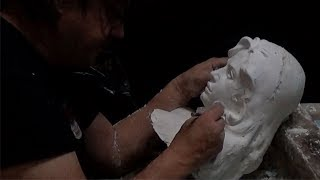 How to make a Plaster Waste Mold from your sculpture