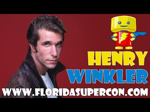 Meet Henry Winkler at Florida Supercon July 1-4, 2016