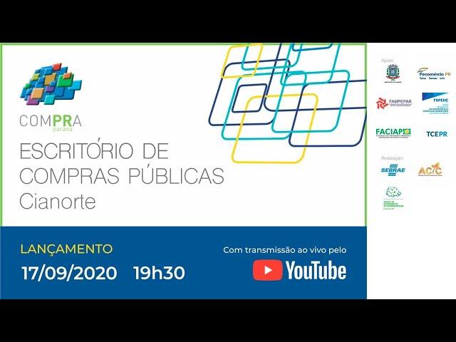Escritório de Compras Públicas | Cianorte/PR