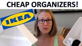 UNDER 10 Ikea Organization Products Stylish White
