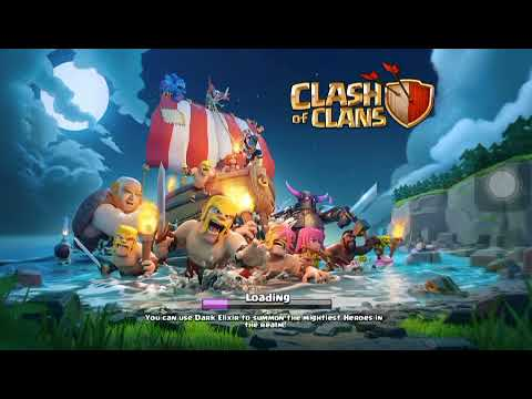 Save Data clash of clan for get gems and coins