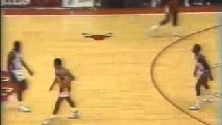 Isiah Thomas makes a chump out of some guy - 1985