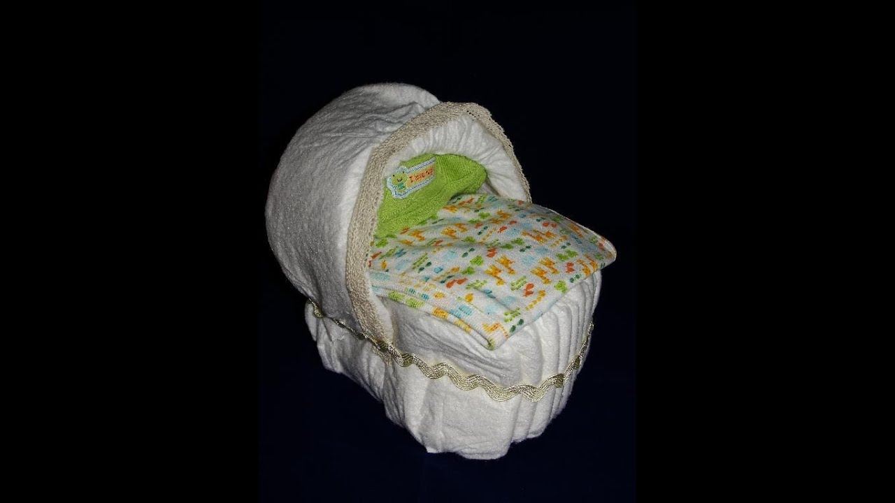 How To Make A Diaper Bassinet Tutorial With
