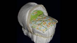 How To Make A Diaper Bassinet (tutorial) With Cookingandcrafting