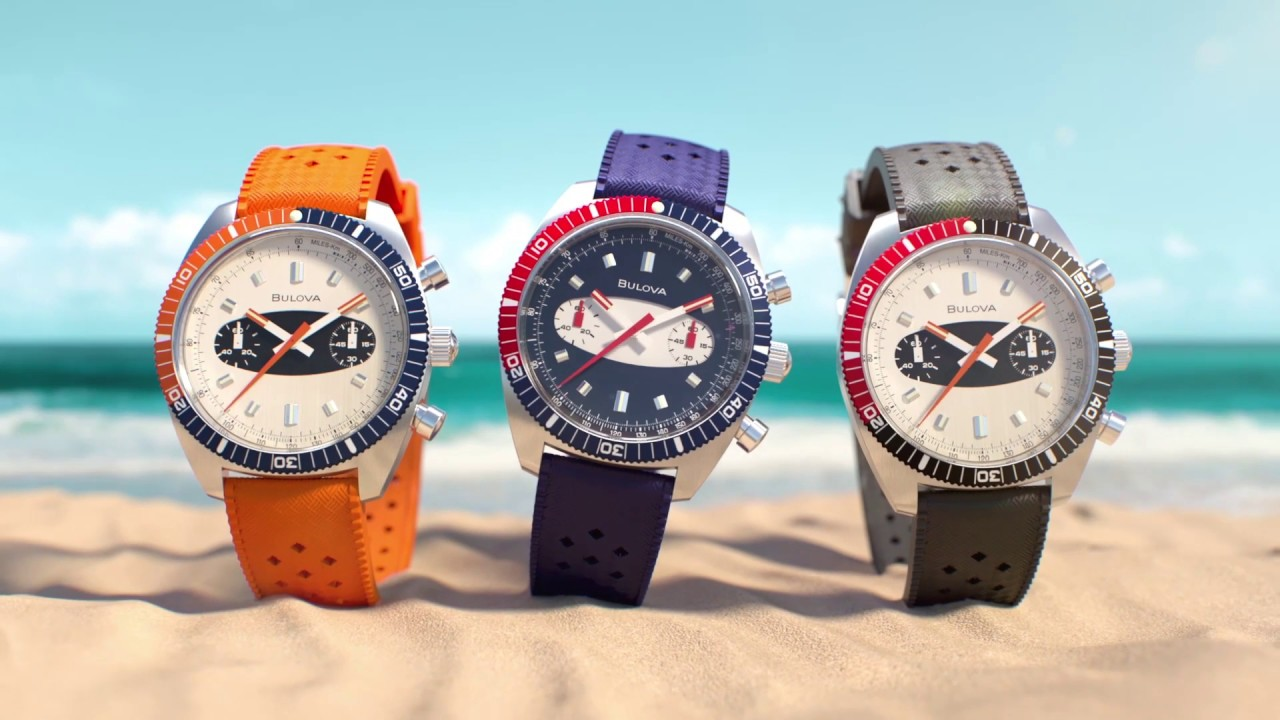 Bulova Limited-Edition Chrono A Surfboard Watch | Price & Reviews | Drop  (formerly Massdrop)