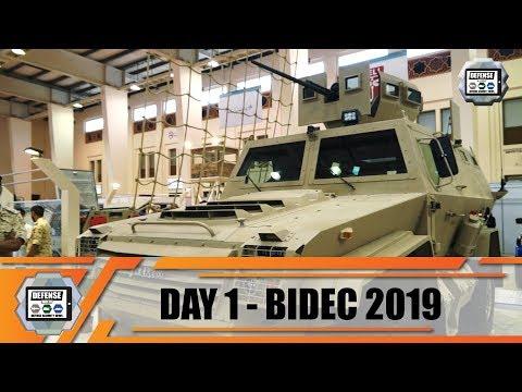 BIDEC 2019 Bahrain International Defense Exhibition Manama army show daily News Day 1