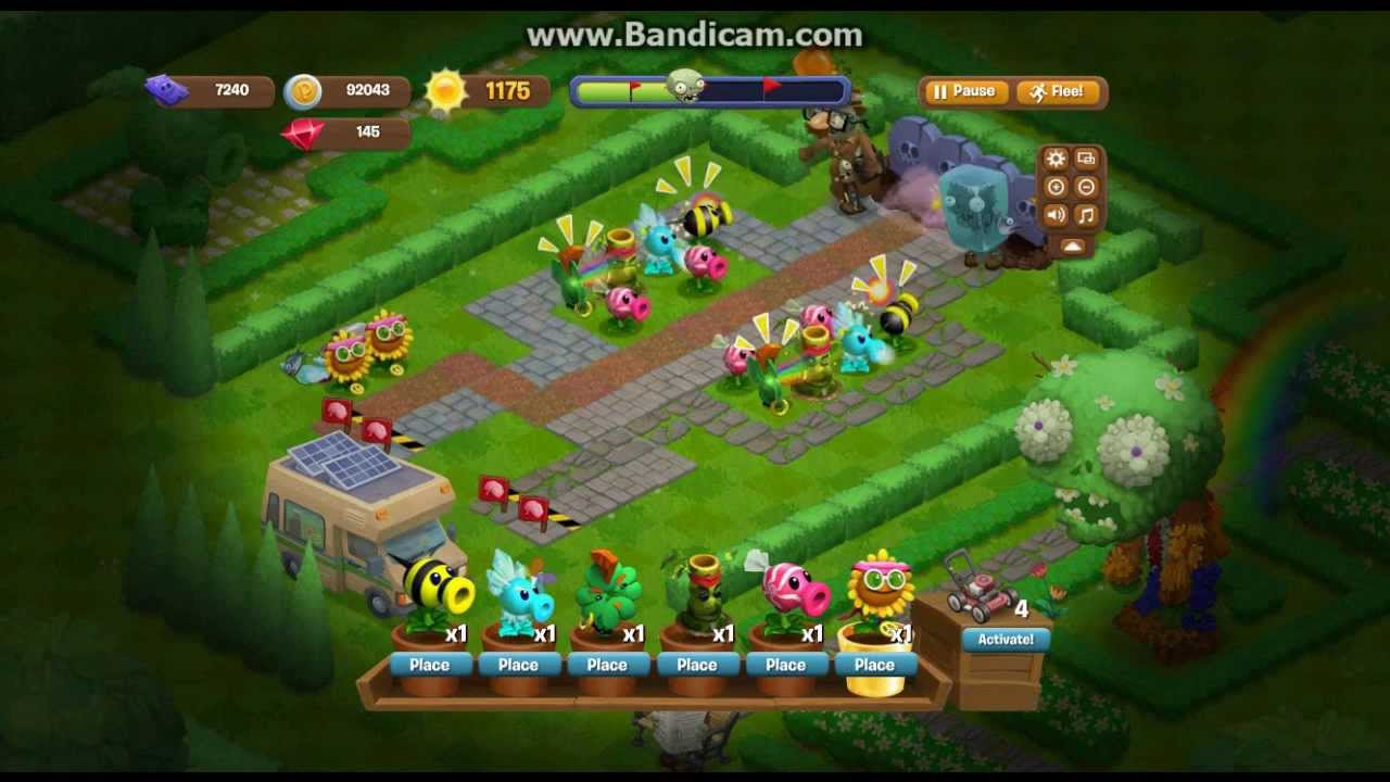Plants Vs Zombies Adventure Vip Plants Youtube