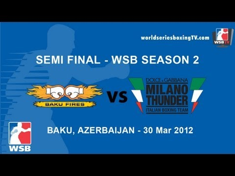 Baku vs Milan - Semi Final WSB Season 2