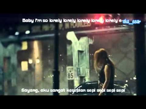 MV 2NE1  LONELY Indo Sub + Lirik