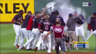 Feelin' 22: Cleveland Indians keep win streak alive with walk-off