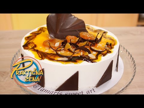Praktična žena - Santorini torta