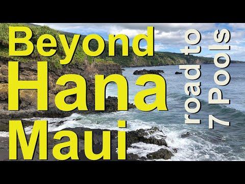 Beyond Hana, Maui, beaches and streams