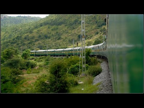 BANGALORE to HYDERABAD : Patience Testing Garib Rath Express : Circular Trip Part 2 [Full HD]