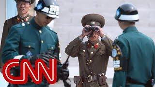 Rare look inside Korea's demilitarized zone