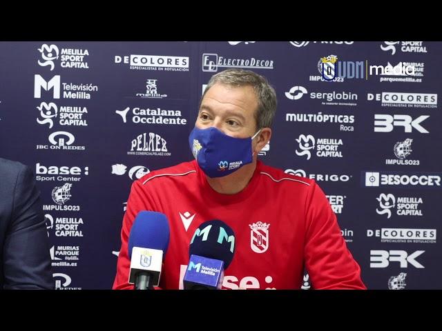 Presentación oficial Ángel Viadero como técnico de la U D  Melilla