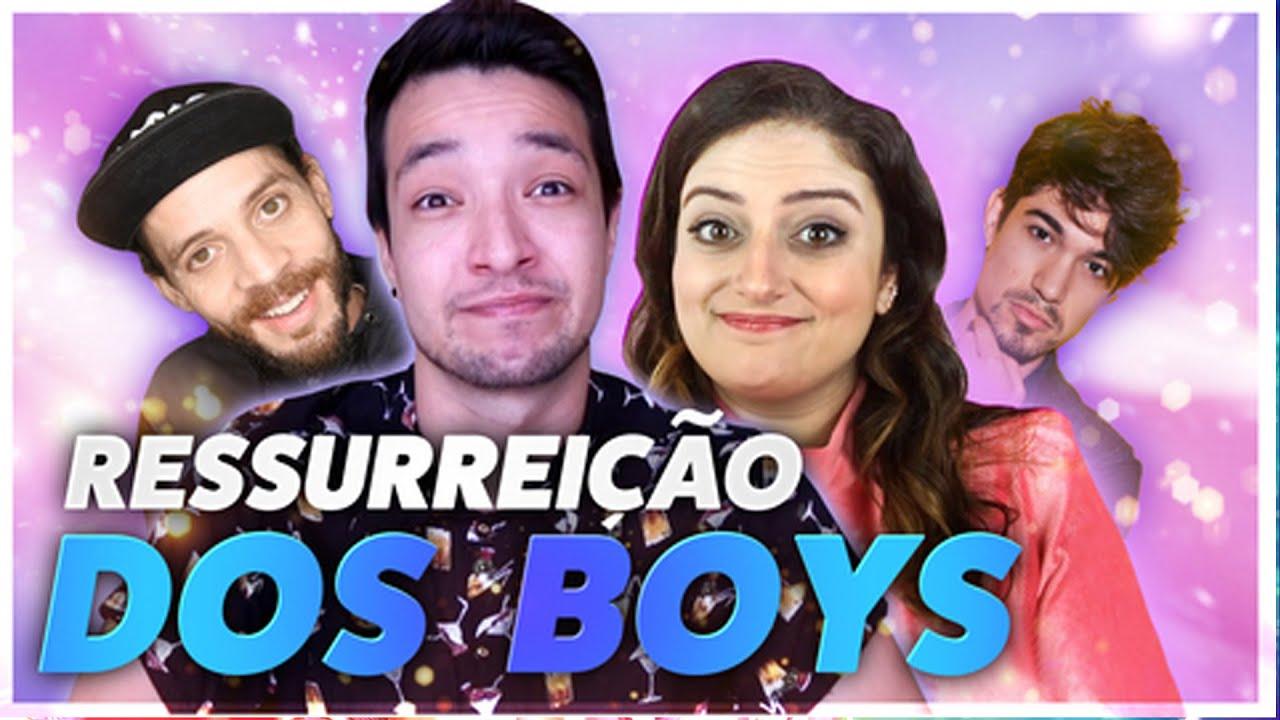 A RESSURREIÇÃO DOS BOYS NA QUARENTENA: TIPOS DE HOMENS (PARTE 2) - feat. Só Nina Mesmo