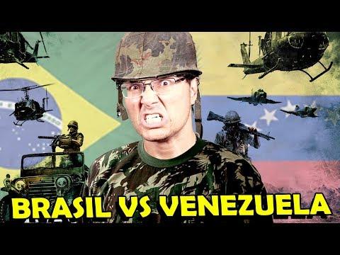 BRASIL X VENEZUELA, QUAL É O MAIS PODEROSO?