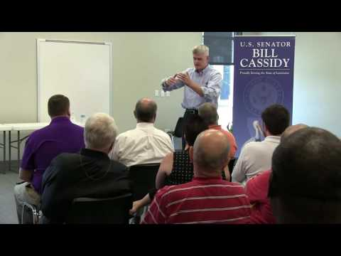 U.S. Sen. Bill Cassidy - Town Hall Meeting in Winnfield