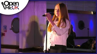 RIPTIDE  VANCE JOY performed by FAITHE CALLAGHAN at Open Mic UK music competition