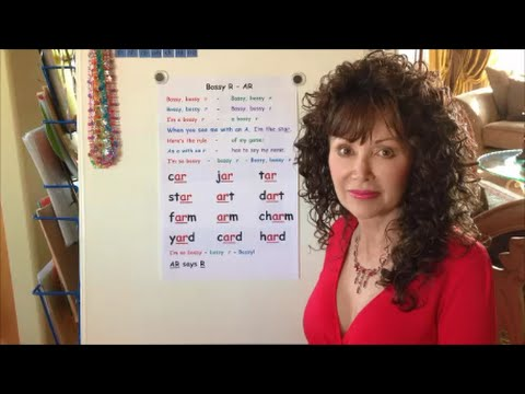 The Bossy R  - AR Song - Sing, Spell, Read & Write