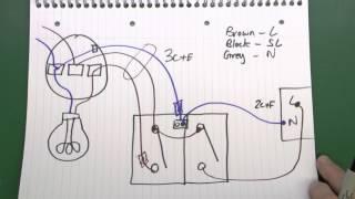 Lighting Circuits Part 3  Fans, Motion Sensor Lights, 3 Core & Earth Cable